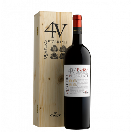 QUATTRO VICARIATI RED Magnum in Wooden Box